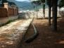 Palo abbandonato a Porta Branconia